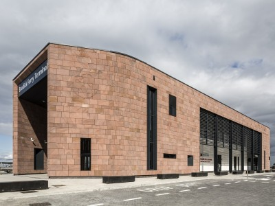 EOS Facades - The Brodick Ferry Terminal